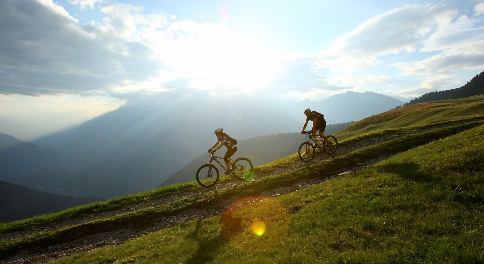 Spannende Mountainbike Tour in Partschins
