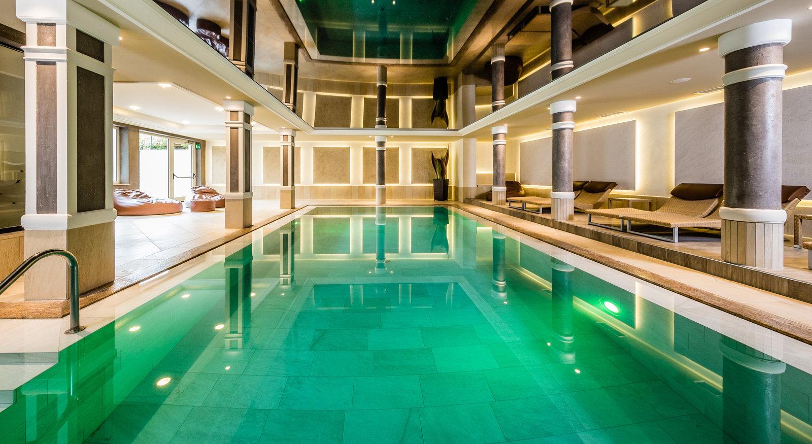 Hotel anderlahn in partschins 4 hotel bei meran - Hotel maranza con piscina coperta ...